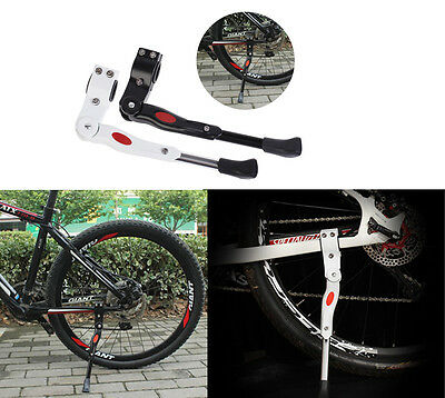 New Adjustable MTB Road Bike Mountain Bicycle Side Kick Stand Alloy Kickstand