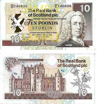 "Novelty Scottish Bank Notes ""Poonds"""