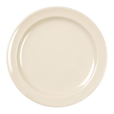 "Thunder Group 1 Dz Nustone Tan Melamine 8"" Dinner Plate, Nsf - Ns108T"