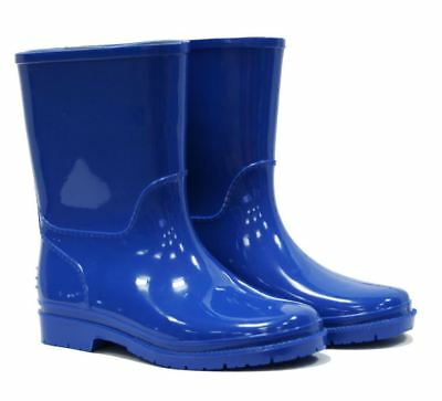 Town & Country Kids Child Childrens Wellies Wellington Boots Sky Blue US Size 12