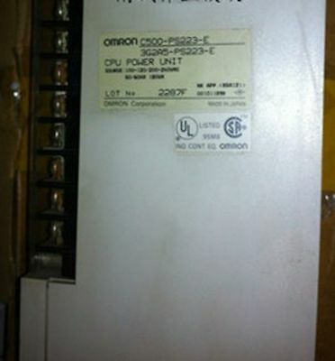 ONE USED Omron Power Supply C500-PS223-E 3G2A5-PS223-E tested