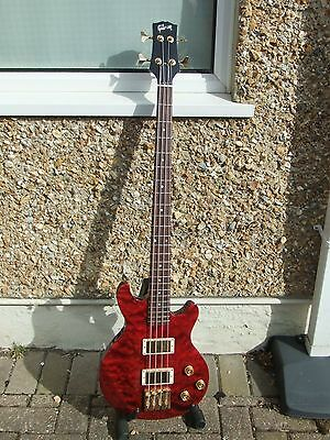 Gibson Les Paul Money Bass Guitar With Hiscox Case