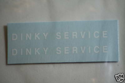 Dinky-Spares   Dinky 25x/430 Commer Breakdown Lorry   White Lettering Decals
