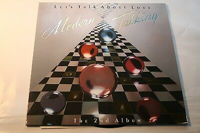 Modern Talking - Let's Talk About Love The 2nd Album - LP Hansa
