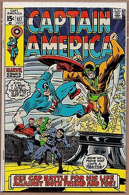 Captain America #127 FN SIlver Age Cents
