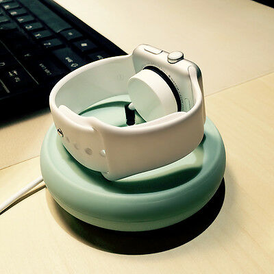 Portable iWatch Charger Stand Dock Bottom Put USB Cable