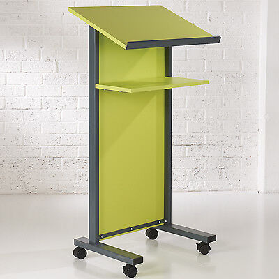 Lime Panel Front Lectern