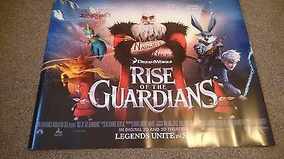 Rise of the Guardians Quad Movie Poster (2012)