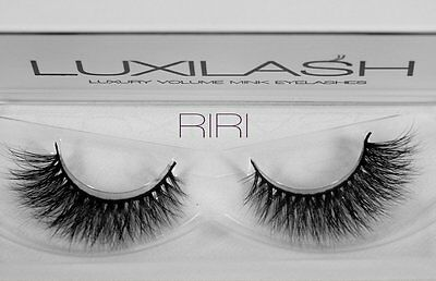 LUXILASH RIRI Amazing Double Layered 3D Mink Lashes- Reusable 25 Times