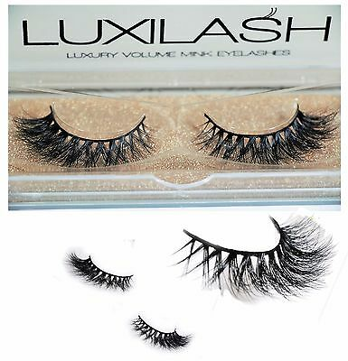 LUXILASH KYLIE Amazing Double Layered 3D Mink Lashes- Reusable 25 Times