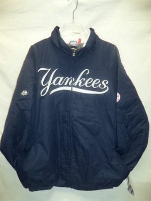 MLB New York Yankees Authentic Collection Zip Up Navy Jacket