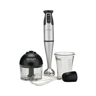 Stainless Steel Shafts & Blade Crusher Hand Stick Blender w/ Attachments 300 W