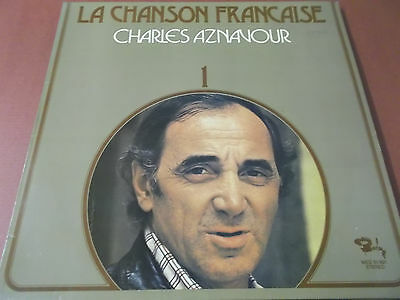 La Chanson Francaise 1: Charles Aznavour: Vinyl Lp Made In Germany: Barclay