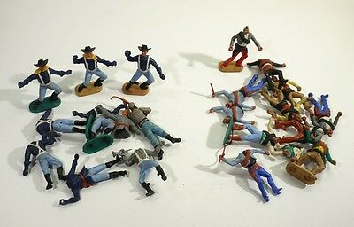 Large Collection of Vintage Timpo Toy Soldiers - US Cavalry & Mexicans.