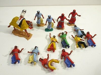 Large Collection of Vintage Timpo Toy Soldiers - Arab Warriors.