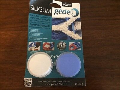 Pebeo Siligum Gede Silicone Moulding Paste Unopened