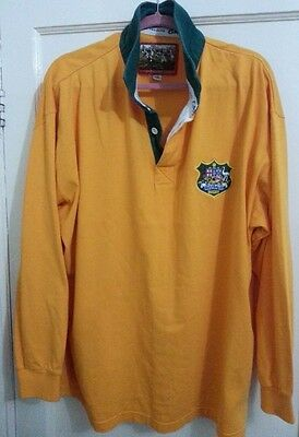 Vintage Cotton Traders Classics Australia Rugby Union Shirt Jersey Size - XXL