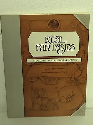 Real Fantasies-The Graphic Works Of Real Musgrave Pocket Dragons