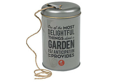 NEW The Thoughtful Gardener Garden string in a tin by Until