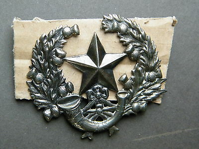 Cameronians badge,  officers & Nco's, 1900