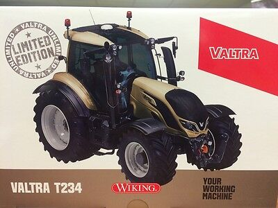 Valtra T234 Wiking Scale 1/32 Model Champagne Colour Limited Edition Tractor
