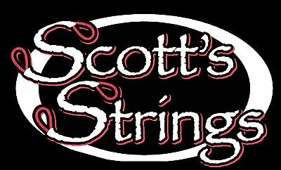 Scott's Strings Full Set Custom made Color Compound Archery Deer Bow Lot