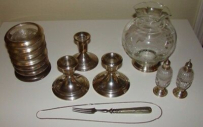 Sterling Silver (?) Mixed Lot