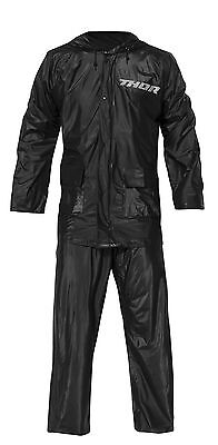 New Thor Black Rain Suit Racing Spectator Football Baseball Free Ship