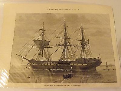Illustrated London News Article - HMS Arethusa