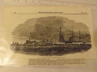 Illustrated London News Article - HMS Magicienne