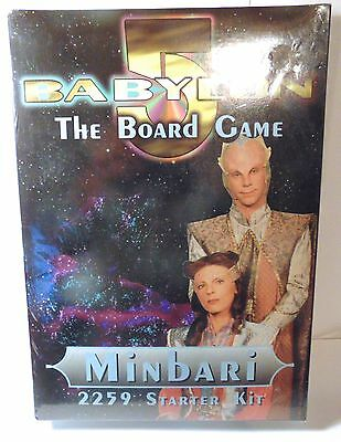 Babylon 5 The Board Game Minbari 2259 Starter Kit - NEW Factory Sealed