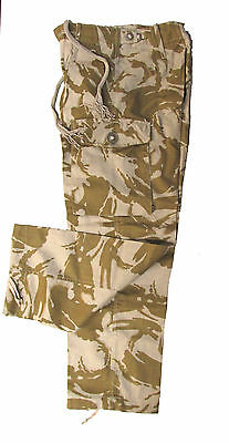 British Military Combat Pants - Desert DPM Camo - Various Sizes - NEW Surplus