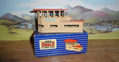 Hornby Dublo Model Railways Oo Gauge Die Cast Signal Cabin Boxed