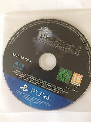 Final Fantasy Xv PS4 PlayStation 4 Disc Only