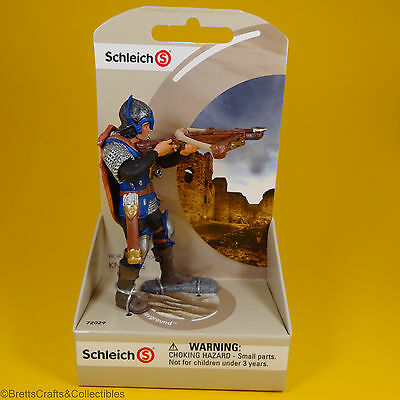 Schleich - World of History Knights Blue Dragon Knight with Crossbow 72029