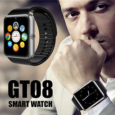 2016 GT08 Touch Screen Bluetooth Smart Wrist Watch Phone Mate For Android & IOS