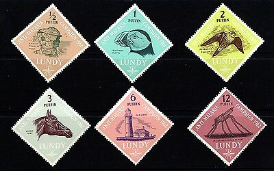 Stamps, Lundy Island, 1962, MNH.