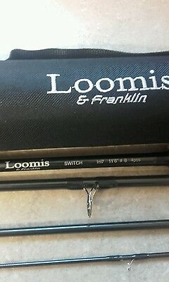 Loomis & Franklin SWITCH IM7  11,6ft #8weight 4pc fly rod