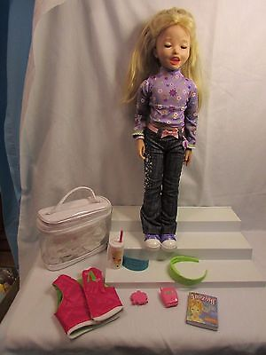 Playmates Amazing Allysen Interactive Doll Guc With Extras