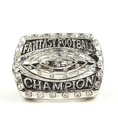 2016 Fantasy Football Glory Championship Ring  Size 11