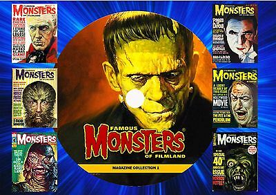 Famous Monsters Of Filmland Mag On Dvd-Collection 1(Printed Disc)