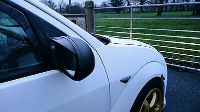 Ford Focus Mk1 1998-2004 Wing Mirror Rain Deflectors Visor Smoked ,Eyebrows,