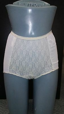 Maternity Panties Nylon  By De Luxe Fashion Style # 309 (Pack Of 3  ) Vintage