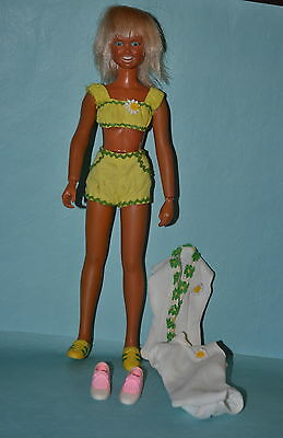 Vintage 1974 Kenner Dusty Doll - Sports Version with extra shoes/clothes