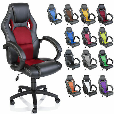 Racing Executive Swivel Office Chair Computer Seat Luxury 14 colours available