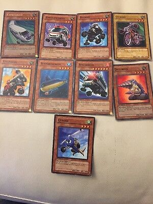 "Yugioh Cards Bundle Of Machine ""Roids"" 1st Edition"