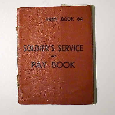 Second World War Soldier'S Service And Pay Book
