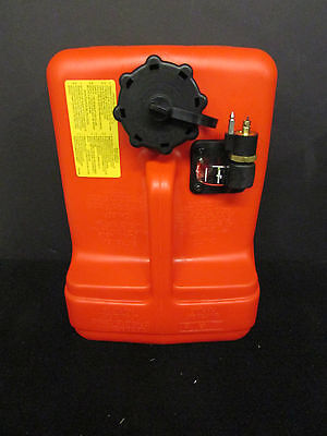 Yamaha outboard motor fuel tank 12 Liter 3 Gallons plastic portable EPA OEM part