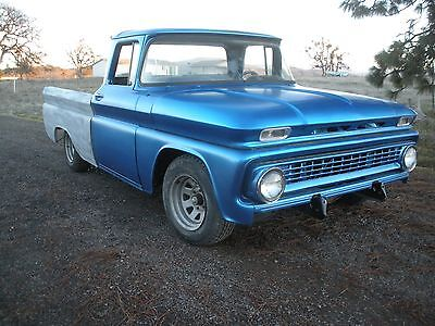 1963 Chevrolet C-10  1963 CHEVY C-10 PICKUP SWB SHORT WIDE BOX RARE BIG WINDOW CAB CHEVROLET PROJECT