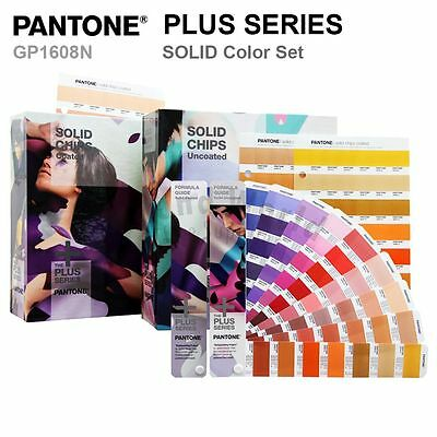 Pantone Color Plus Series GP1608N SOLID COLOR SET(Formula Guides and SOLID CHIP)